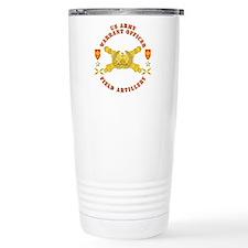 Warrant Officer - Field Artillery Travel Mug