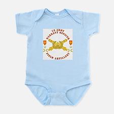 Warrant Officer - Field Artillery Infant Bodysuit