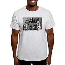 Antique Chamber Music Ash Grey T-Shirt