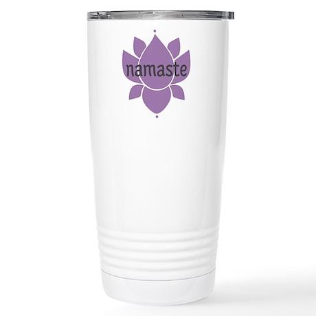 namaste Stainless Steel Travel Mug