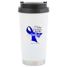 Granddaughter Colon Cancer Travel Mug