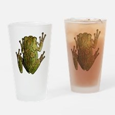 Cute Frog Drinking Glass