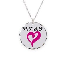 PTSD for her Necklace Circle Charm