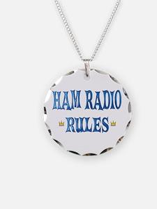 Ham Radio Rules Necklace