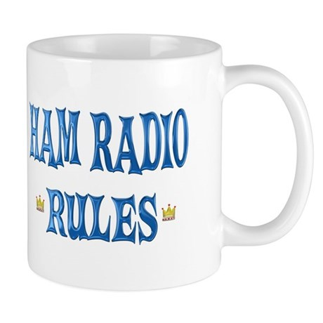 Ham Radio Rules Mug