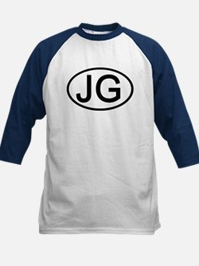 JG - Initial Oval Tee