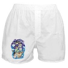 Jesus Walks on Water Boxer Shorts