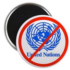 UN OUT OF US Magnet