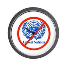 UN OUT OF US Wall Clock