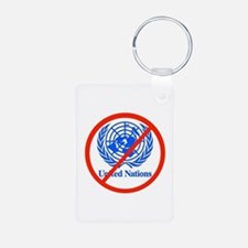 UN OUT OF US Keychains