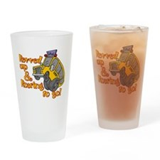 Revved Up! Drinking Glass
