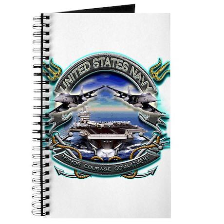 US Navy Carrier Underway Anch Journal
