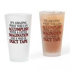 Wad of Duct Tape Drinking Glass