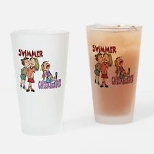 Cute Chlorine Drinking Glass