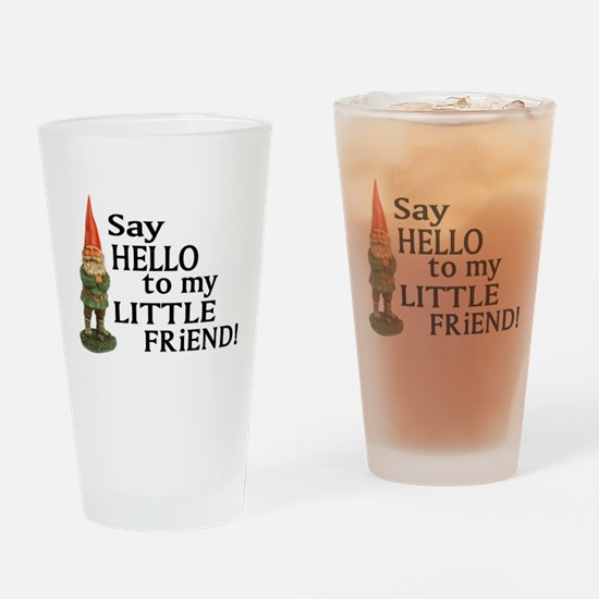 Funny Gnomes Drinking Glass