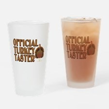 fficial Turkey Taster Drinking Glass