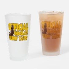 Official Chocolate Bunny Taster Drinking Glass
