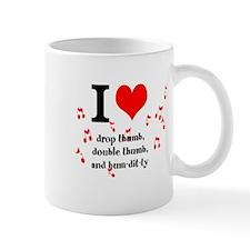 Double thumb mug