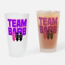 Team Barb Drinking Glass