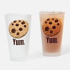 Yum. Cookie Drinking Glass