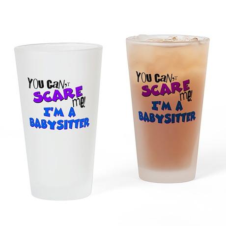 Babysitter Drinking Glass