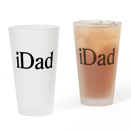 iDad Drinking Glass