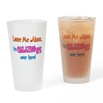 Creating Life Drinking Glass