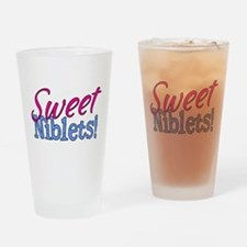 Sweet Niblets Quote Drinking Glass