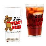 Big Teddy Bear Drinking Glass