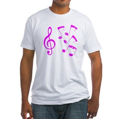 G-clef with Musical Notes VII Shirt