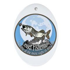 lesser fishermen Ornament (Oval)