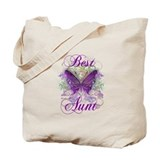 Sister butterfly Canvas Totes