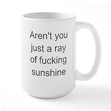 ray of sunshine Ceramic Mugs