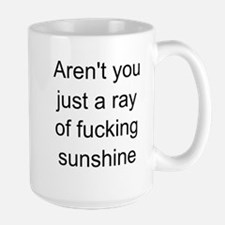 ray of sunshine Ceramic Mugs