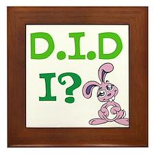 D.I.D Framed Tile