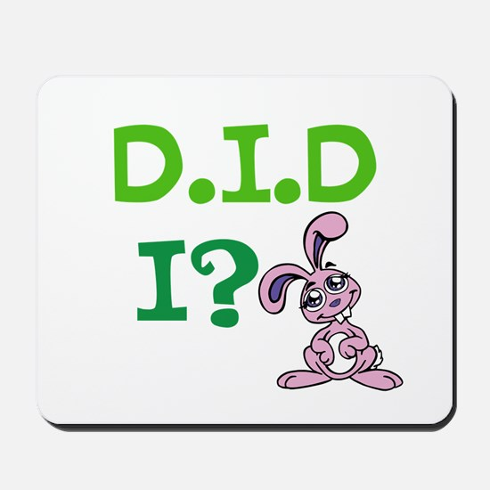 D.I.D Mousepad