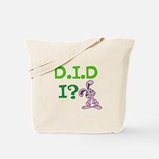 D.I.D Tote Bag