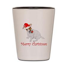 Festive JRT Christmas Shot Glass