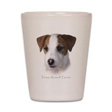 Parson Jack Russell Shot Glass
