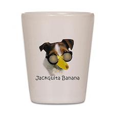 Jackquita Banana Shot Glass