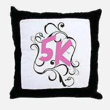 Fancy 5k Throw Pillow