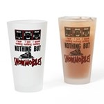 Nothing but Snowmobiles Drinking Glass