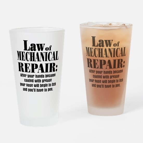 Law of Mechanical Repair: Drinking Glass
