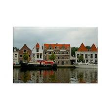Dutch Landscape Rectangle Magnet