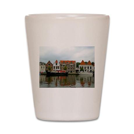 Dutch Landscape Shot Glass