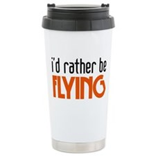 I'd rather be flying Thermos Mug