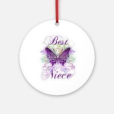 Best Niece Ornament (Round)