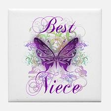 Best Niece Tile Coaster