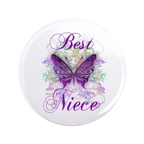 "Best Niece 3.5"" Button"
