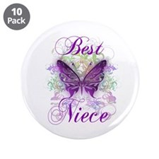"Best Niece 3.5"" Button (10 pack)"